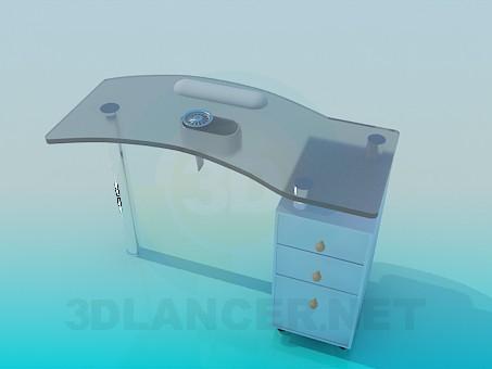 modelo 3D Mesa final - escuchar