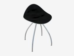 Chaise (blanc noir h46)