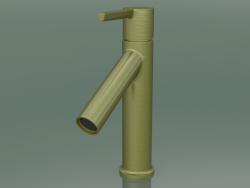 Single lever basin mixer 100 CoolStart (Brushed Brass, 10007950)