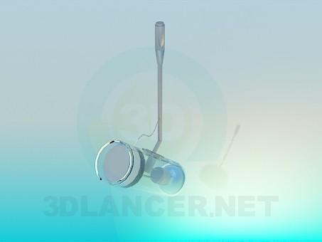 3d модель Потолочный прожектор – превью