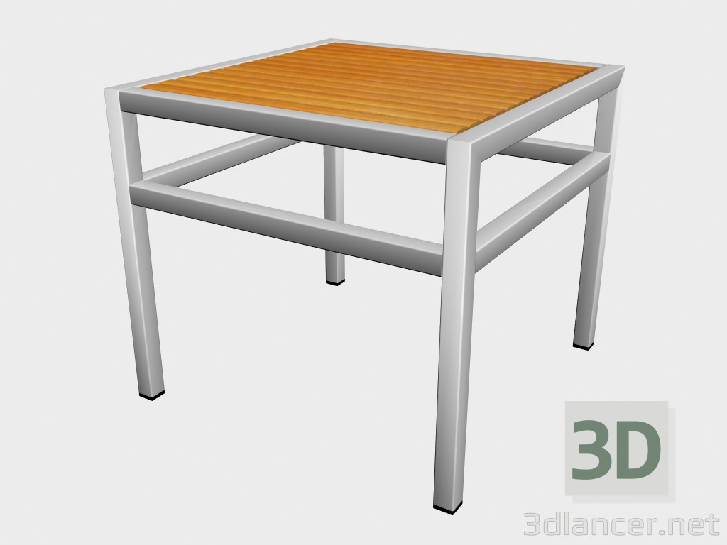 3d model Side table Wooden Top Side Table 78 761 - preview