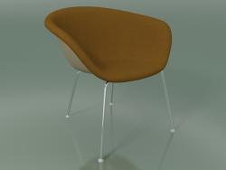 Chaise longue 4212 (4 pieds, avec garniture avant, PP0004)