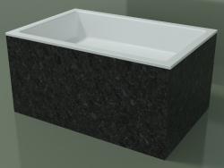 Vasque à poser (01R142301, Nero Assoluto M03, L 72, P 48, H 36 cm)