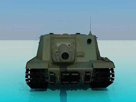 3d модель ISU-152 – превью