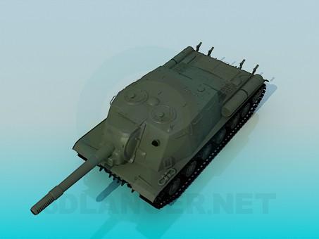 modelo 3D ISU-152 - escuchar