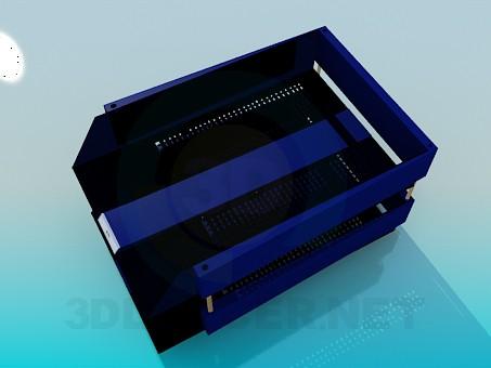 3d модель Настольные контейнеры для бумаг – превью