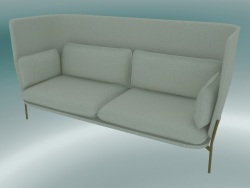Sofa Sofa (LN7, 90x232 H 115cm, Pieds Bronzés, Sunniva 2 811)
