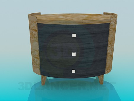 3d model Bordillo para TV - vista previa