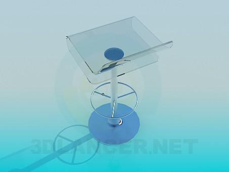 3d модель Стул для бара – превью