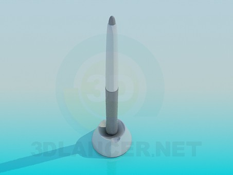 3d model Wacom stylus for tablets - preview