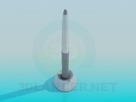 modelo 3D Stylus de Wacom para tabletas - escuchar