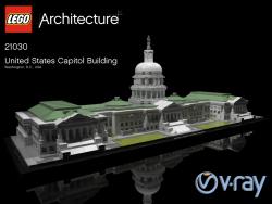 LEGO United States Capitol Gebäude 21030