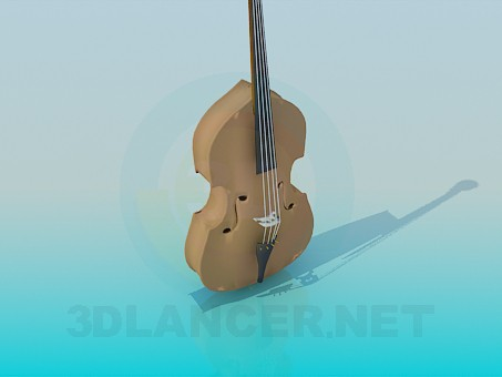 3d model Double Bass - preview