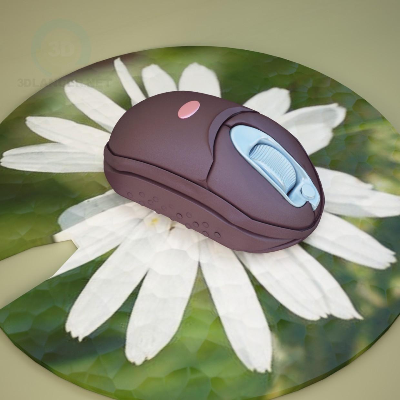 3d модель Беспроводная мышь – превью
