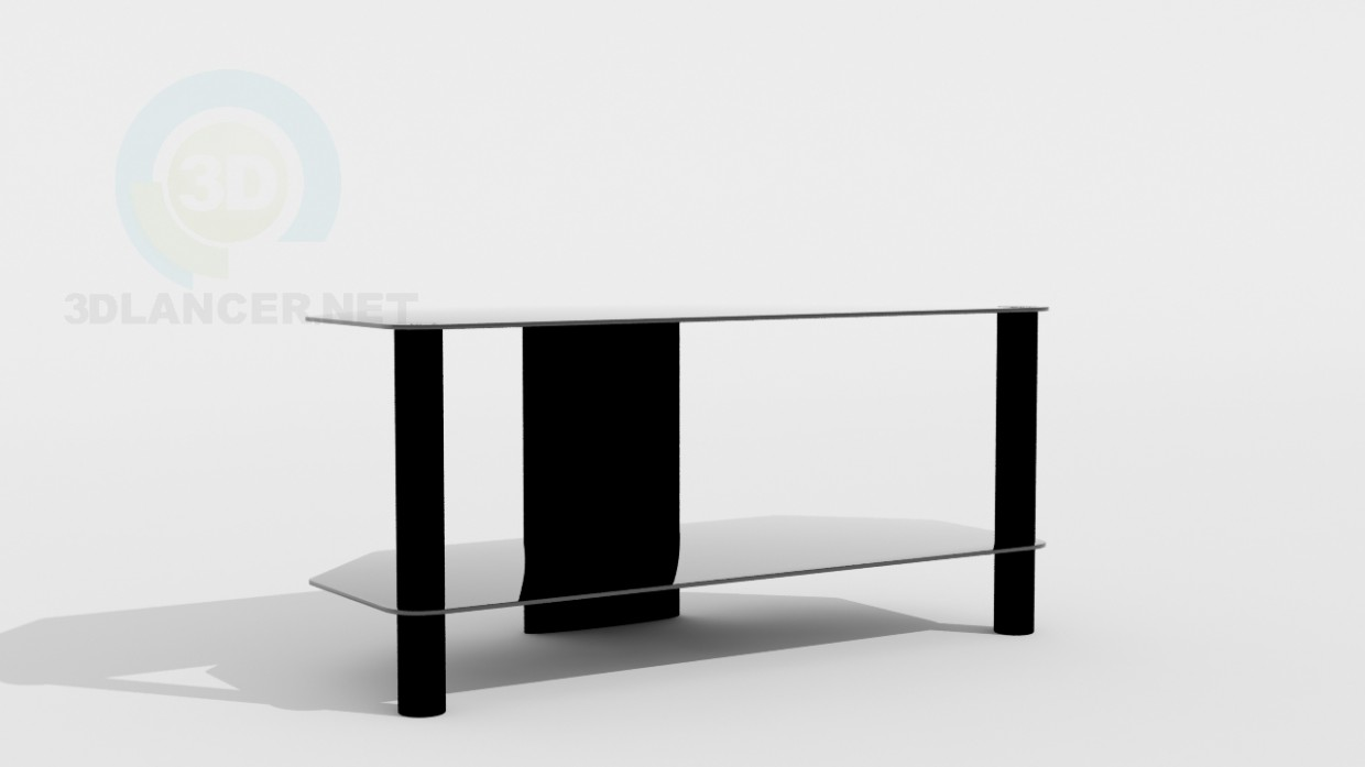3d model table for a tv set id 10713. Black Bedroom Furniture Sets. Home Design Ideas