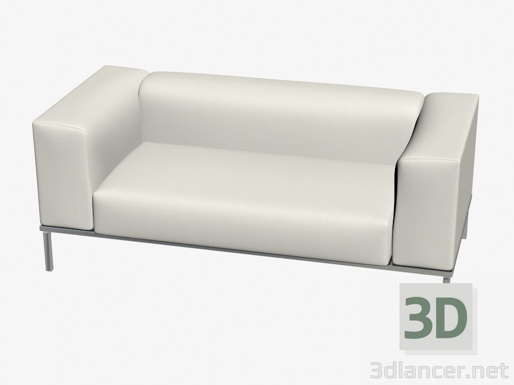 3d model sofa bed double manufacturer cassina id 18713 for Sofa bed 3d model