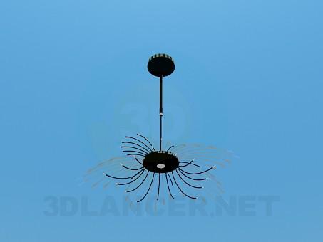 modelo 3D Lámpara en forma de paja - escuchar