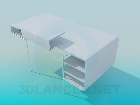 modelo 3D Escritorio - escuchar
