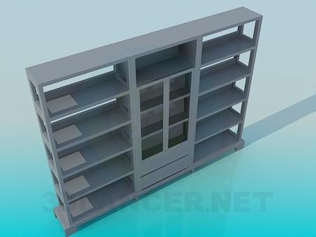 3d модель Шкаф – превью