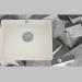 3D Modell Waschen von Glas-Granit, 1 Kammer mit einem Flügel zum Trocknen - Edge Diamond Capella (ZSC AB2C) - Vorschau