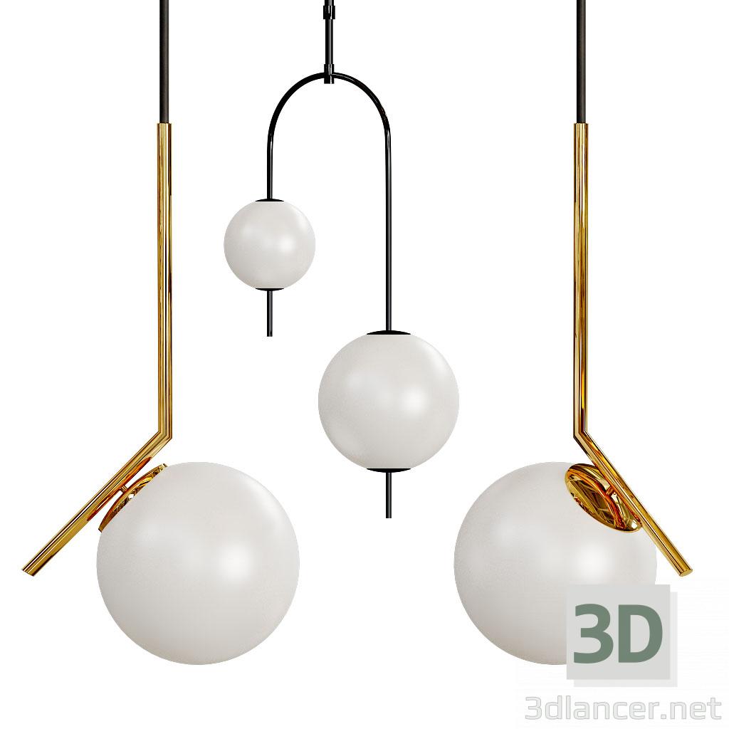 3d The Balance Chandelier Beads Libra model buy - render