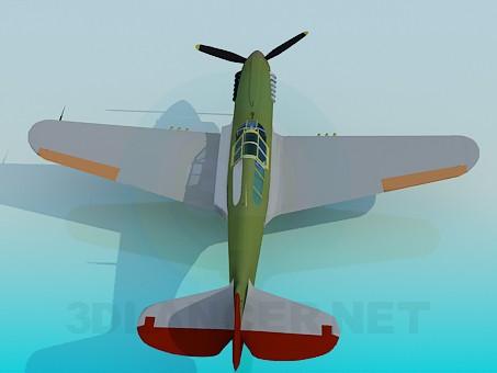 3d model Light aircraft - preview