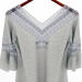 3d Blouse with lace inserts model buy - render