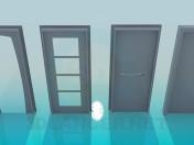 Türen mit verschiedenen design