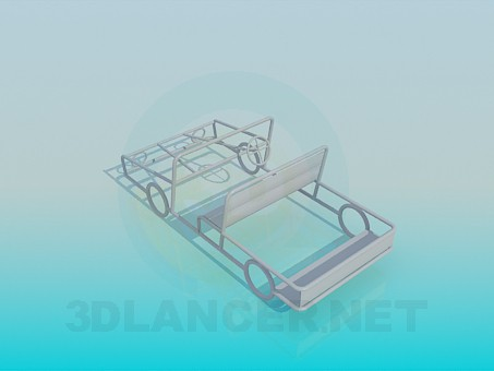 3d model Car for a playground - preview