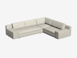 esquina del sofá