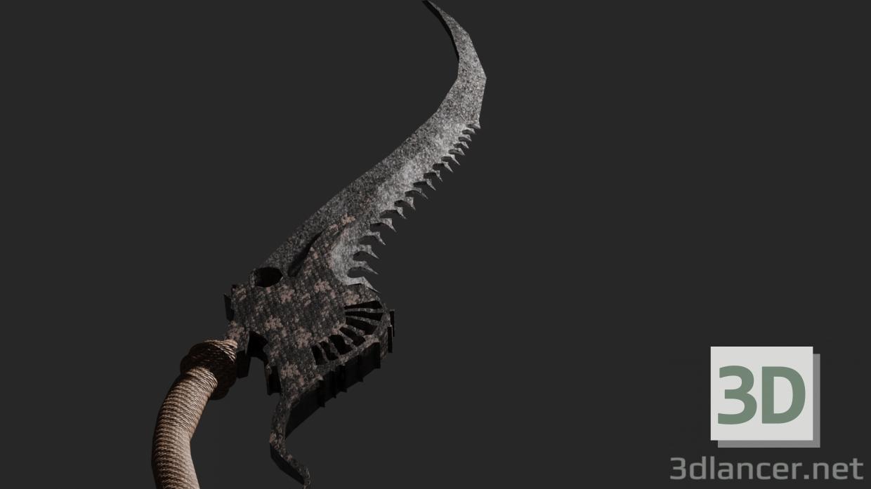3d demon sword model buy - render