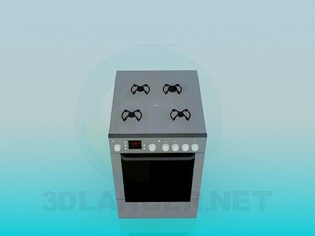 descarga gratuita de 3D modelado modelo La olla