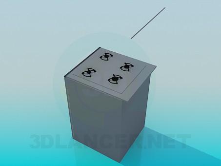 modelo 3D La olla - escuchar
