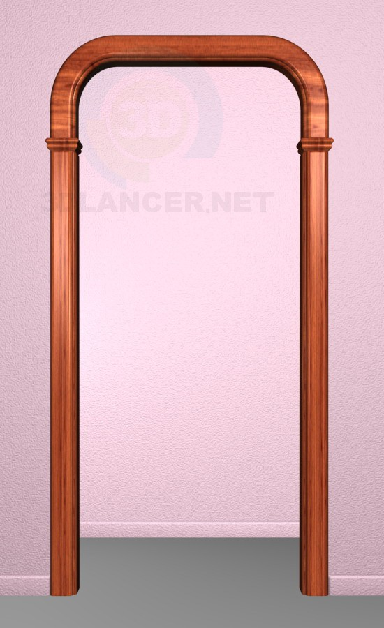 3d model Arch - preview