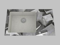 El lavado del granito de cristal, 1 cámara con el ala para el secamiento - el borde del cañón redond