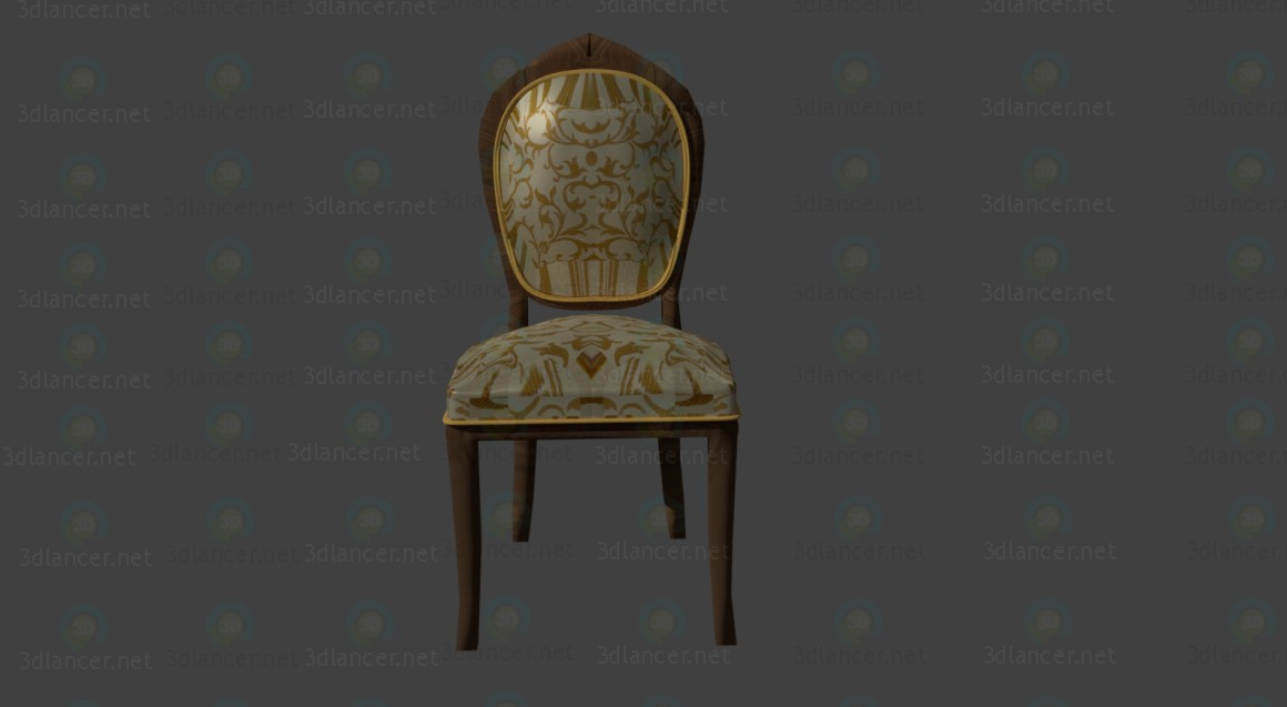 3d  Classic chair  model buy - render