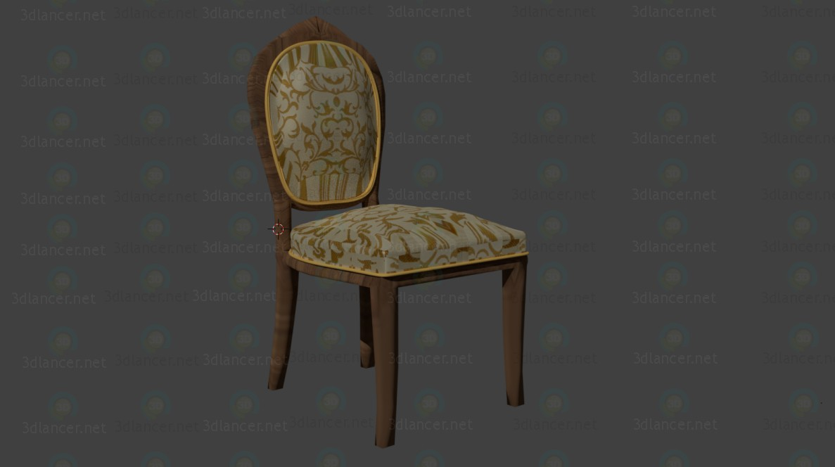 Classic chair paid 3d model by Владимир Закаможный preview