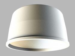 Recessed ceiling luminaire 0640