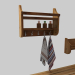 3d Accesories and bath accessories model buy - render