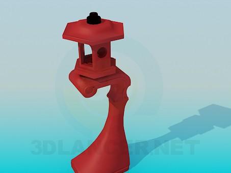 3d модель Фонарик – превью