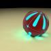 3d model ball - preview