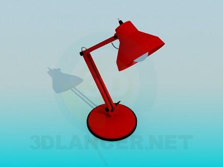 3d модель Настільна лампа – превью