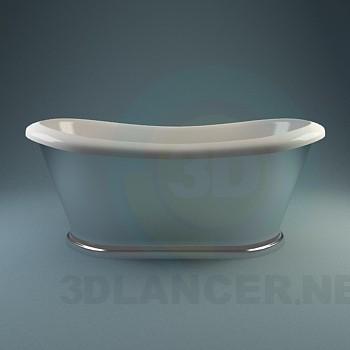 3d модель Коллекция классических ванн – превью