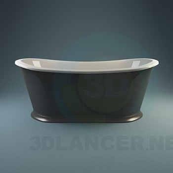 3d модель Колекція класичних ванн – превью