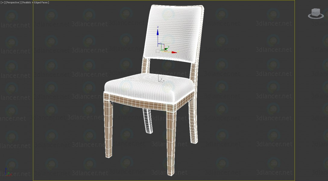 3d model Chair BB Italia Calipso Apta Collection 2013 - preview