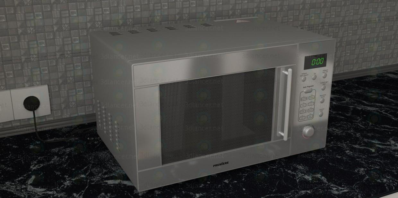 3d модель Микроволновка Premiere – превью