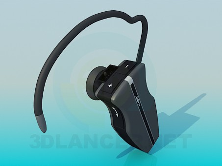 3d modeling Jabra bluetooth headset model free download