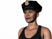 लिडा एक पुलिस वाला