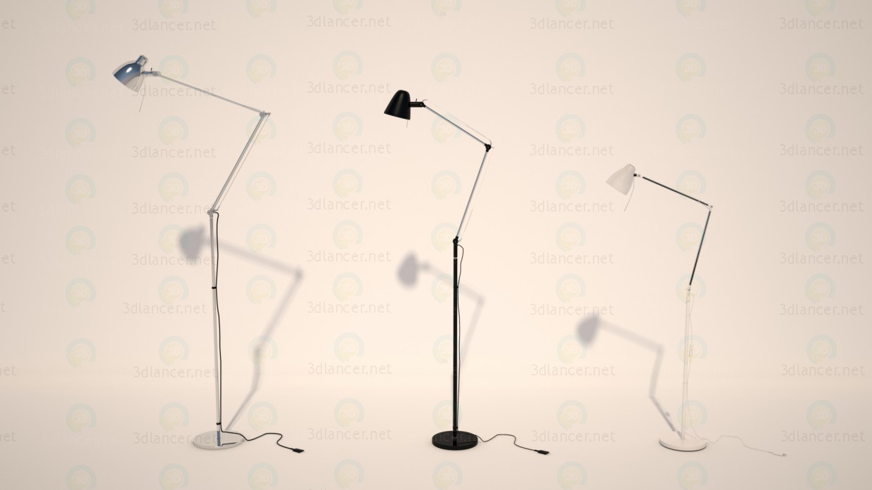 3d моделирование Торшер, лампа из IKEA 3 шт. АНТИФОНИ, УПБУ, ТРОЛЬ модель скачать бесплатно
