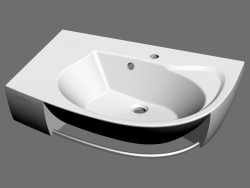Rosa Comfort Plus L washbasin
